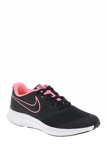 Nike Star Runner 2 (Gs) Kadın Spor Ayakkabı Siyah